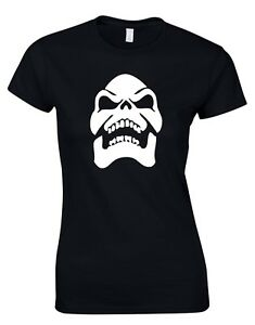 Skeletor He-man 80S Cartoon TV Movie Retro Womens T-Shirt