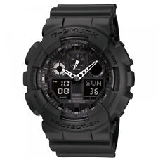 Casio G-Shock,GA-100-1A1ER, Black, Alarm, Stopwatch, Timer, Backlight,World Time
