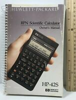 Hewlett-Packard HP-42S RPN Scientific Calculator Owner's Manual 3rd Edition