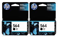 GENUINE NEW GENERATION HP 564 (CB316WN) Black Ink Cartridge 2-Pack