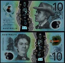 AUSTRALIA 10 DOLLARS (P63) N. D. (2017) STEVENS & FRASER POLYMER UNC