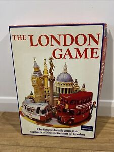 The London Game Vintage Board Game BAMBOLA TOYS 1972