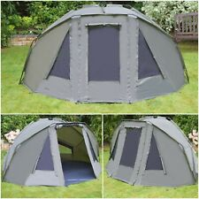 Quest Compact MK4 Carp Fishing Bivvy 1-2 Man Overnight Shelter Tackle Brolly