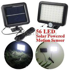 Solar Power 56 LED Light Motion Sensor Outdoor Garden Security Flood Spot Lamp