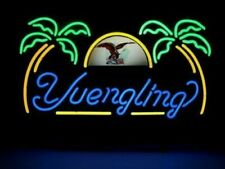 """New Yuengling Eagle Palm Trees Neon Light Sign 17""""x14""""  00004000 Beer Cave Gift Lamp"""