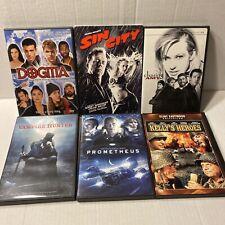 6 extreme sports DVD lot Sin City Chasing Amy Dogitia, Prometheus,Vampire Hunter