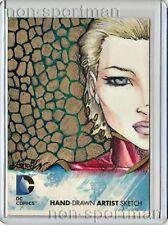 DC COMICS 52 SKETCH BY VIRGINIA KAKAVA
