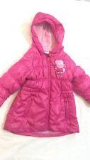 PEPPA PIG - Giubbotto - colore rosa scuro - con cappuccio - 24 mesi - USATO