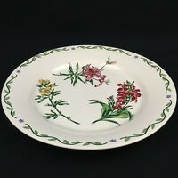 "Chop Plate Round Platter 12"" International Tableworks Terrace Blossoms Floral"