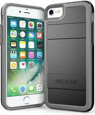 Pelican Protector Cell Phone Case for iPhone 7 - Black/Light Gray
