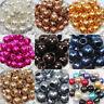 10Pcs Big Hole Loose Pearl Spacer Beads Jewelry Making Handmake Bead DIY Decor