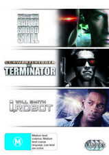 Terminator/i Robot/the Day The Earth Stood Still R4 DVD