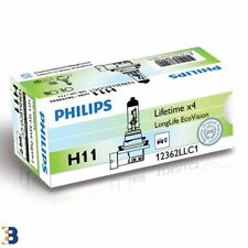 1x H11 PhilipsLongLife EcoVision 711 Car headlights [12362LLECOC1]