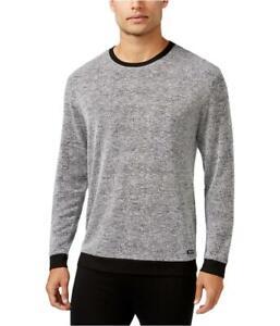 Kenneth Cole Men Marled Knit Long Sleeve Nightshirt Sleepwear Size M