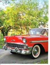 1956 CHEVROLET BEL AIR ~  NICE 4-PAGE ARTICLE / AD