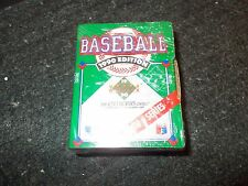 Lot of 4 1990 Upper Deck Baseball High Number Factory Sealed Sets 100 Cards Per