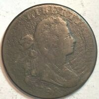 1798 Draped Bust Large Cent -  ACE 213