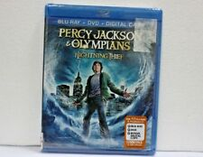 PERCY JACKSON & THE OLYMPIANS THE LIGHTNING THIEF Blu Ray disc COMBO PACK SEALED