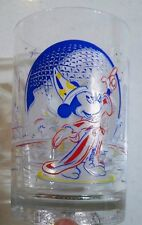McDonald's Disney 25th Anniversary Glass Mickey Mouse Remember The Magic