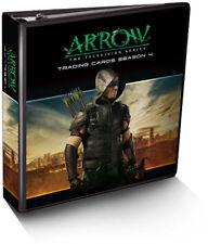 Arrow Season 4 Trading Card Binder Album with Exclusive B1 Costume Card