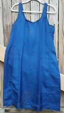 New listing Vintage Silk Slip 1920's Blue