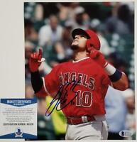 JOSE BRICENO Signed Angels 8x10 Photo #3 Autograph ~ Beckett BAS COA ITP