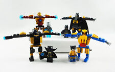 Minifigures Iron Man Super Heroes Wolverine Batman Black Panther Building Toys