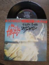 The Angels - Nature of the Beast - SIGNED Picture Sleeve by Doc Neeson - 1986