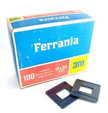 Ferrania 5x5cm Small Plastic Changing Frames Without Glass Box of 100 *694