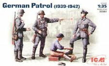 ICM 1/35 German Patrol (1939-42) set of 4 figures # 35561 - Plastic Model Kit