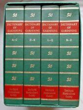 FOLIO SOCIETY - THE NEW RHS DICTIONARY OF GARDENING - 4 Volume Box Set