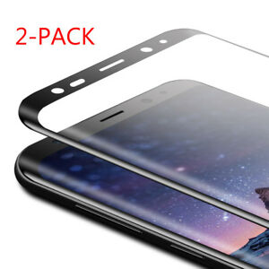 Tempered Glass Full Screen Protector Protective Film For Samsung Galaxy S8 Plus