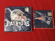 New England Patriots Luncheon / drink 32 Napkins 2-Ply Nfl Party Tailgate (S1)