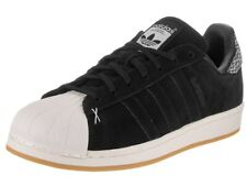 Adidas Men's Superstar Black Suede Skate Shoe 9M NW/OB