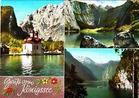 Gruß vom Königssee , Ansichtskarte ; 1967 gelaufen
