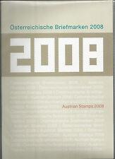 Österreich Jahreszusammenstellung der Post  2008 komplett  postfrisch