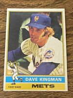 Vintage 1976 Topps #40 DAVE KINGMAN Giants Mets Cubs A's RARE Ex+/NrMt 5th Year