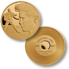 Elvis ® #1 Gold: Heartbreak Hotel ™ 1956 MerlinGold Challenge Coin