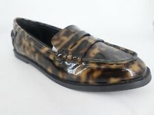 ASOS Tortoiseshell Print Loafers UK 4 EU 37 LN084 CC 04