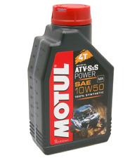 Motul Atv Sxs Power 10w50 Oil 1L Quad Engine Arctic Cat Dvx Prowler 650 450 400