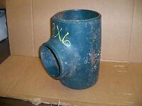 Weldbend Carbon Steel 8-6 in inch buttweld Reducing Tee T pipe 8x6 STD WPR81228