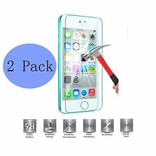 For Apple iPhone 5S 5C SE Real Tempered Glass Film Screen Protector Front X 2Ps