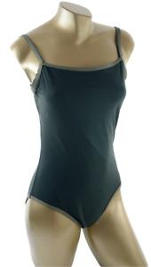 Marks & Spencer Khaki Mix Control Swimsuit ~ UK Size 14 #1574