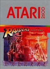 Raiders of the Lost Ark (Atari 2600, 1982)  ~ CLASSIC RARE & VINTAGE ~ Cartridge
