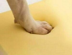 100% Memory Foam Mattress Orthopaedic Dog Bed Seat Pad Cut to Size Cushion comfy