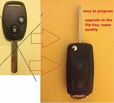 HONDA Remote Flip transponder Key for ODYSSEY 2003 2004 2005 2006 2007 2008