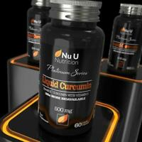 Turmeric Curcumin Capsules NovaSOL (Liquid)  Vitamin D 185 More Bioavailability