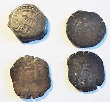 4 antike Münzen vermutlich aus Indien - siehe Foto - (1600