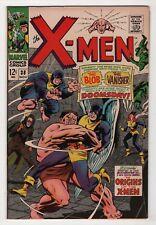 X-Men #38 nice copy origins begin 1967 Marvel Silver Age create-a-lot & save