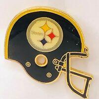 Vintage 1984 Pittsburgh Steelers NFL Football Big Helmet Pin #09 by Peter David